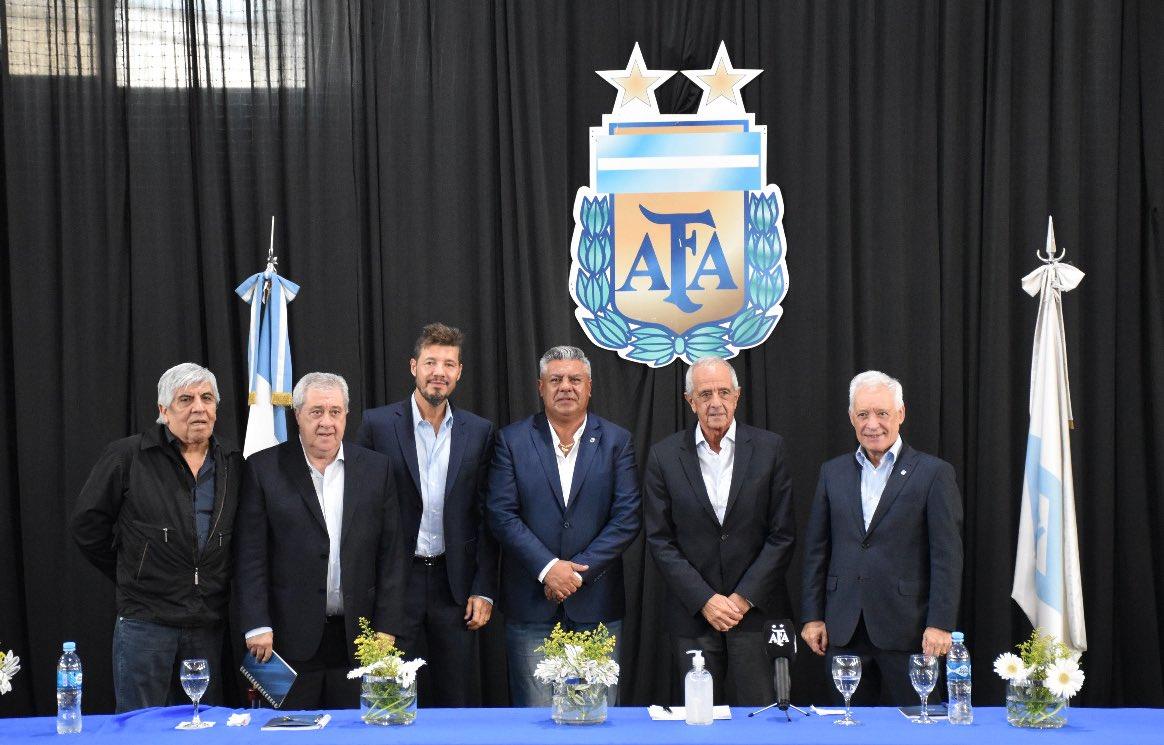 AFA: Tapia presidente y D'Onofrio vicepresidente | Pasión Monumental